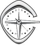 Тайм-Сквер. Большие интерьерные настенные часы.